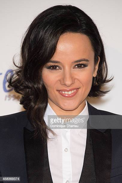 Alizee attends 'WE Love Disney' Premiere To Benefit 'Reves Association' at Le Grand Rex on November 3 2014 in Paris France