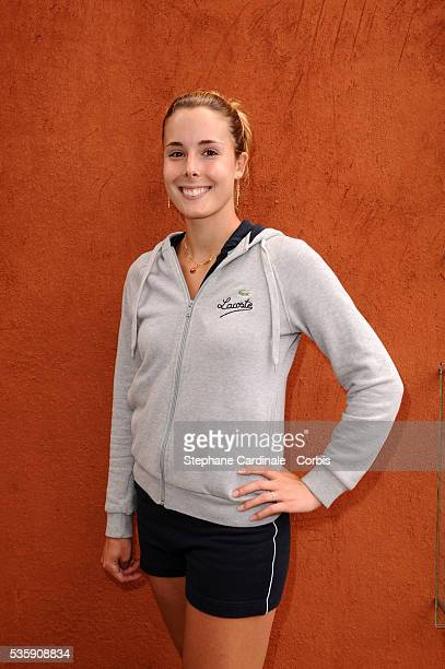 Alizee Cornet at Roland Garros Village