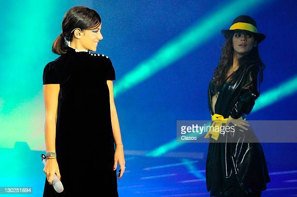 Alizee during the Concerto Number 8 of The Academy at Estudios Churubusco on october 09 2011 in Mexico City Mexico