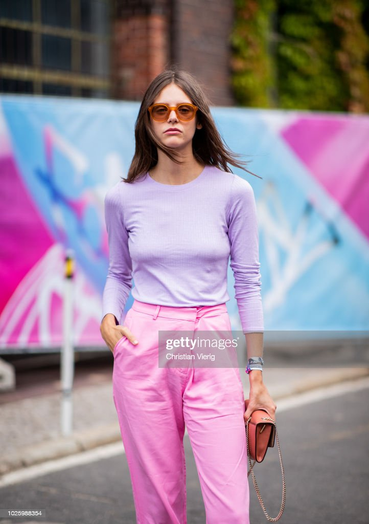 Street Style - Day 2 - Bread&&Butter by Zalando 2018 : Photo d'actualité
