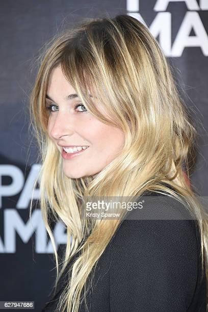 Alizee Guinochet attends the Papa ou Maman 2 Paris Premiere at Cinema Gaumon Alesia on December 5 2016 in Paris France