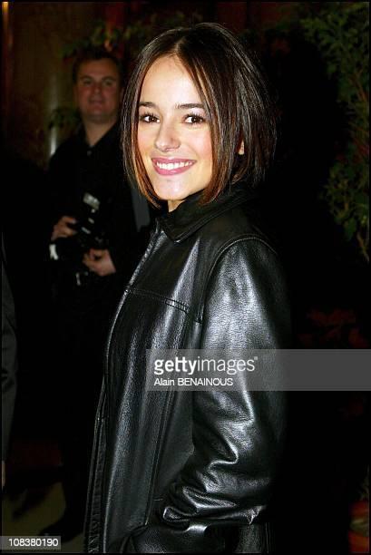 Alizee in Monaco on March 05 2002