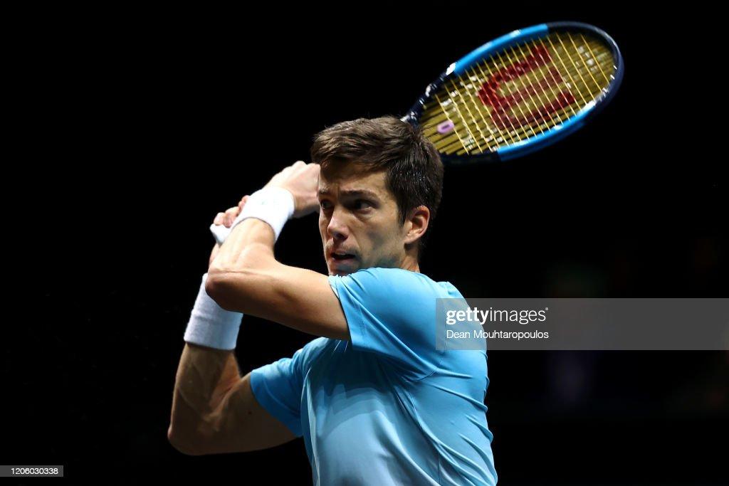 ABN AMRO World Tennis Tournament - Day Six : News Photo