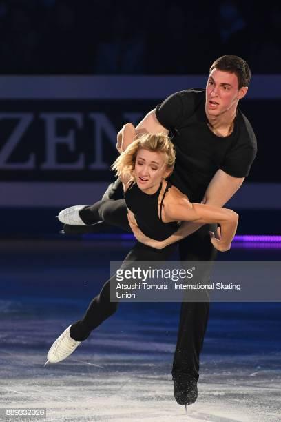 Aljona Savchenko and Bruno Massot of Germany perform thier routine in the Gala exhibition during the ISU Junior Senior Grand Prix of Figure Skating...