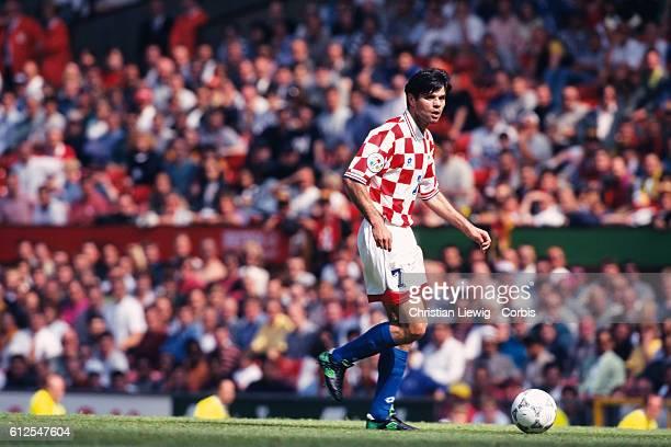 Aljosa Asanovic from Croatia during UEFA Euro 1996