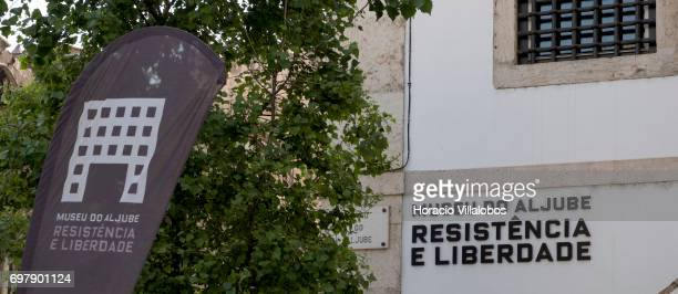 Aljube Museum Resistance and Freedom on June 18 2017 in Lisbon Portugal The Aljube Museum Resistance and Freedom is dedicated to the memory of those...