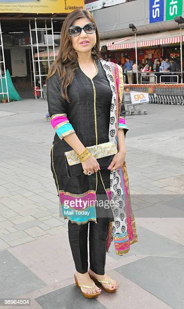 Alka Yagnik at an event in Mumbai on May 7 2010
