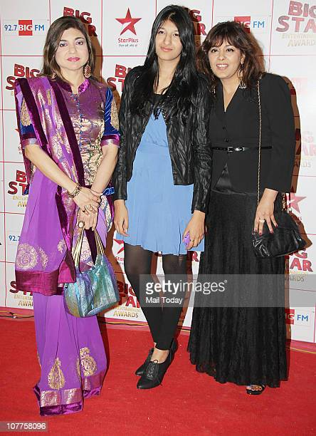 Alka Yagnik at BIG STAR Entertainment Awards '10' at Bhavan's Ground Andheri on December 21 2010