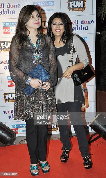 Alka Yagnik at the premiere of the film Well Done Abba in Mumbai on March 25 2010