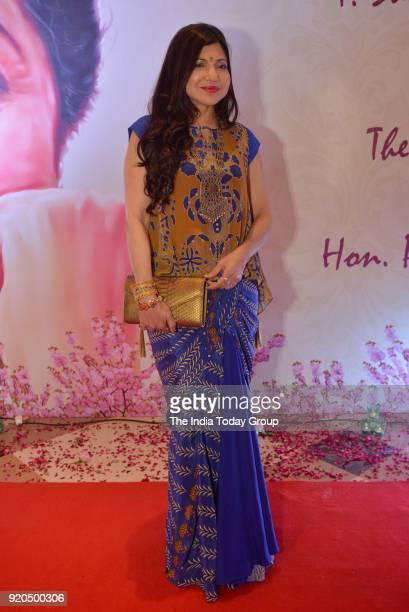 Alka Yagnik at the Yash Chopra Memorial Award 2018 in Mumbai