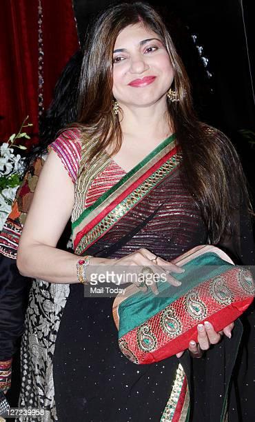 Alka Yagnik during Indian Television Awards 2011 held in Mumbai