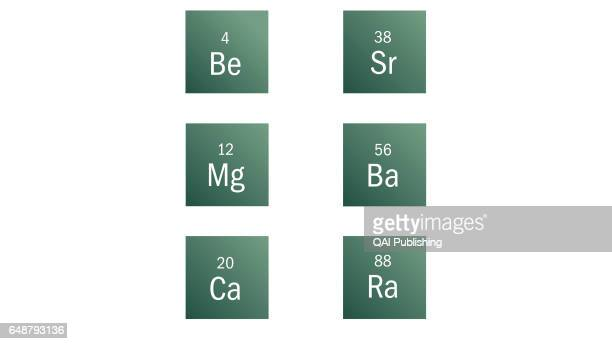 Alkaline earth metal Generally silvery and malleable and good conductors of heat and electricity they react easily with nonmetals and water