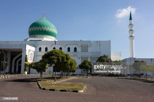 al-kauthar mosque, tawau, sabah, malaysia - argenberg - fotografias e filmes do acervo
