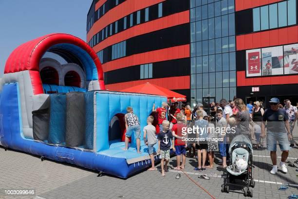 Alkmaar Open Day during the AZ Alkmaar Open Day at the AFAS Stadium on July 21 2018 in Alkmaar Netherlands