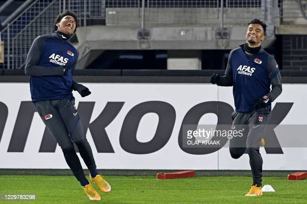 NLD: AZ Alkmaar v Real Sociedad: Group F - UEFA Europa League