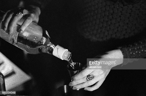 Alkoholausschank in einem Berliner Club