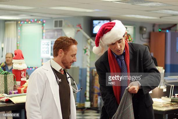 ER 'All About Christmas Eve' Episode 10 Air Date Pictured Scott Grimes as Doctor Archie Morris Goran Visnjic as Doctor Luka Kovac Photo by Mike...