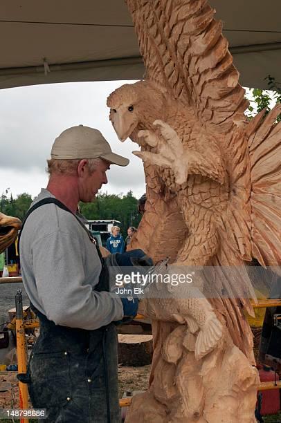 All Alaska Chainsaw Sculpture Contest.