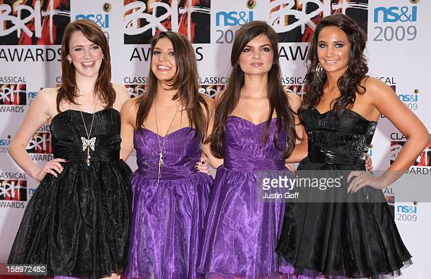 All Angels Arrives For The 2009 Classical Brit Awards At The Royal Albert Hall London