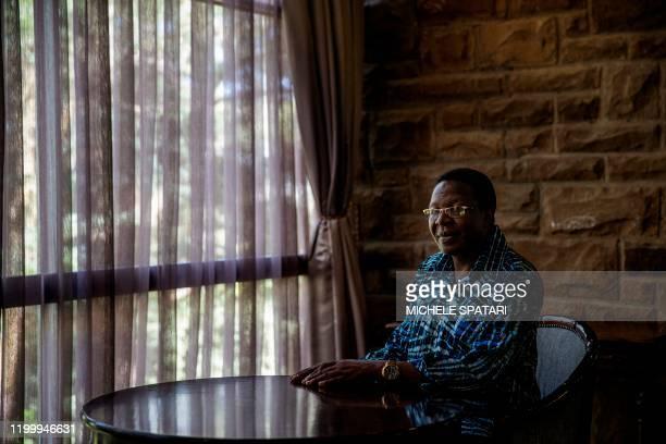 All Basotho Convention deputy leader, Professor Nqosa Mahao poses for a portrait in Maseru on January 30, 2020.
