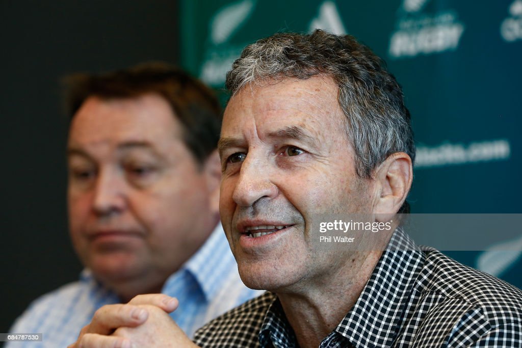 New Zealand Rugby Press Conference : News Photo