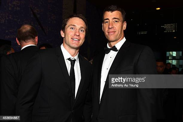 All Black Ben Smith and guest at the arrivals during the 2013 Steinlager Rugby Awards at SkyCity Convention Centre on December 5 2013 in Auckland New...