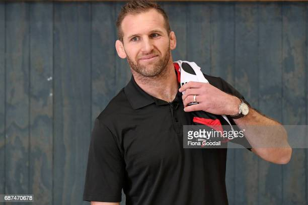 All Black captain Kieran Read announces his resigning with the All Blacks and Crusaders and signing with Counties Manukau Rugby at Rosehill College...
