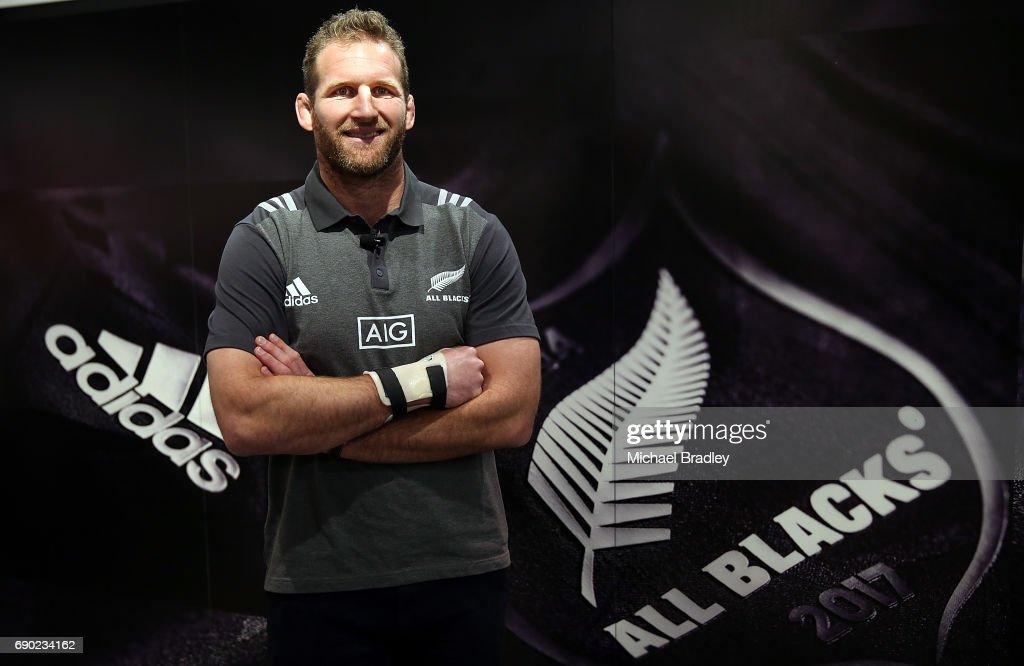 New Zealand All Blacks adidas Jersey Launch