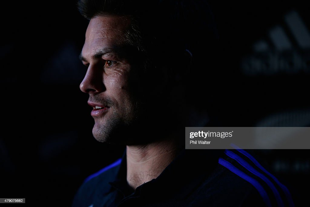 New Zealand All Blacks Rugby World Cup Jersey Launch