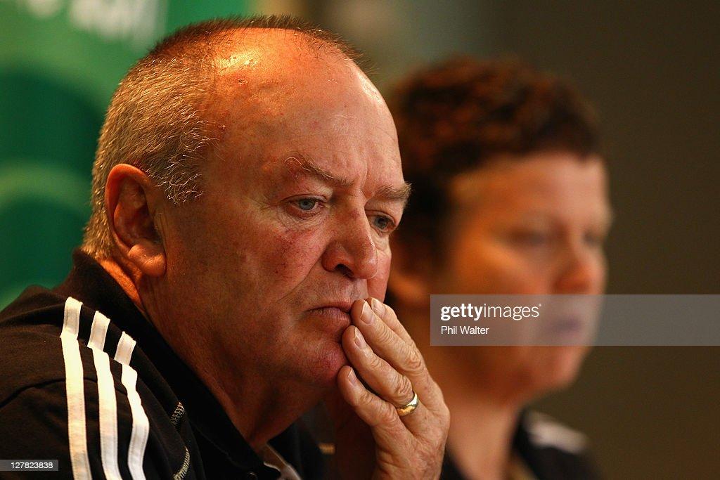 New Zealand IRB RWC 2011 Press Conference