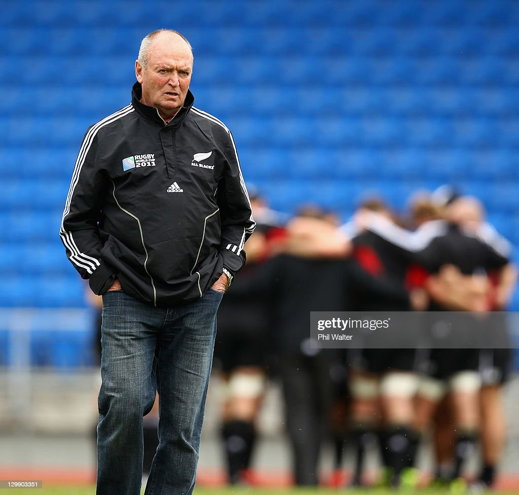 New Zealand IRB RWC 2011 Captain's Run