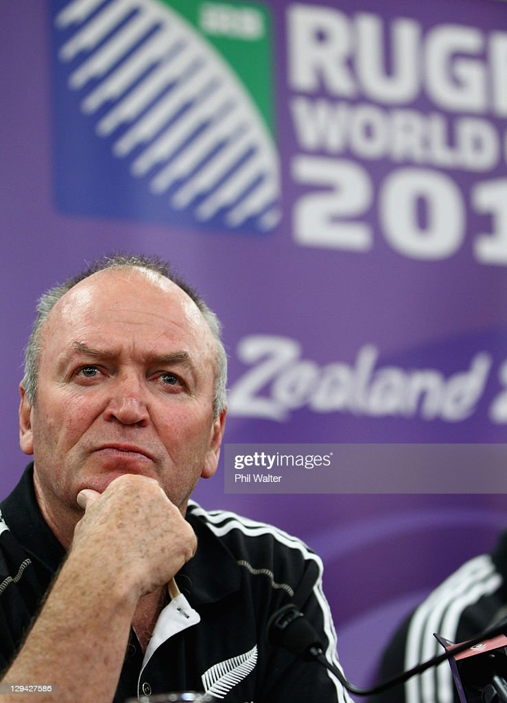 New Zealand IRB RWC Press Conference