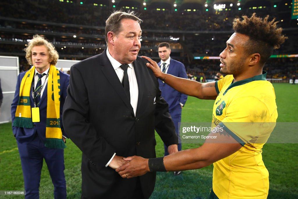Australia v New Zealand - 2019 Rugby Championship : News Photo