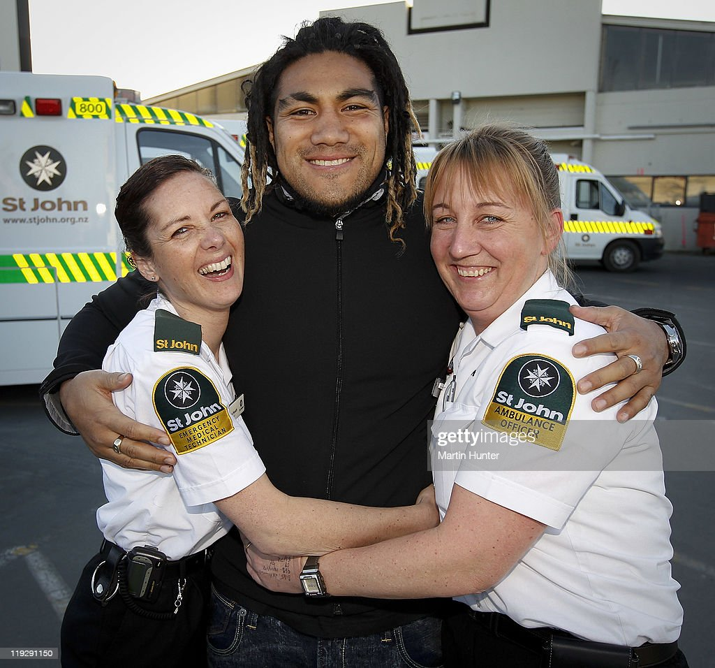 All Blacks Goodwill Visit To Christchurch