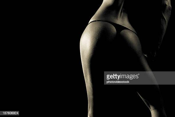 all black - beautiful bare bottoms stock pictures, royalty-free photos & images