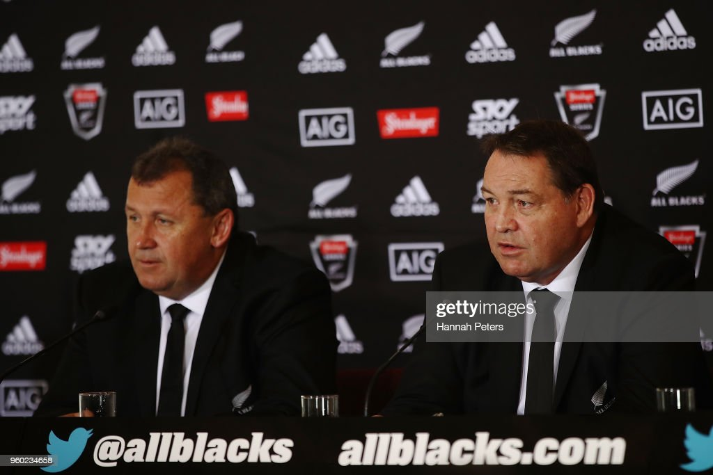 New Zealand All Blacks 2018 Squad Announcement