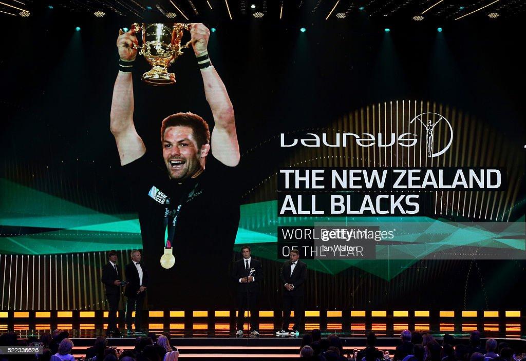 Show - 2016 Laureus World Sports Awards - Berlin : News Photo