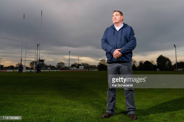 All Blacks Head Coach Steve Hansen poses following a media opportunity. All Blacks Forwards Coach Mike Cron today announced that this will be his...