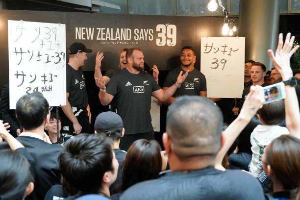 JPN: Fan Engagement Event – NZ Says 39 Campaign