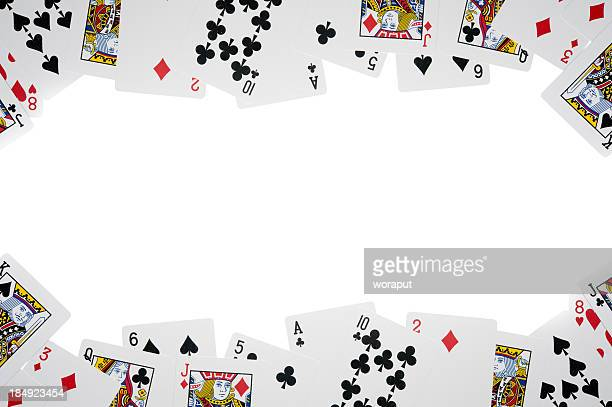 All cards isolated on white