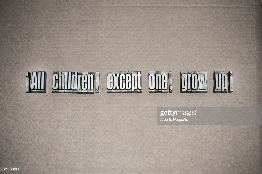All Children Except One Grow Up Stock Photo Getty Images