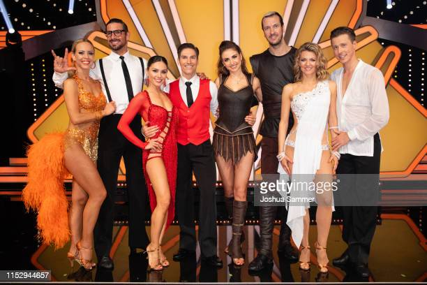 """All contestants on stage during the 10th show of the 12th season of the television competition """"Let's Dance"""" on May 31, 2019 in Cologne, Germany."""