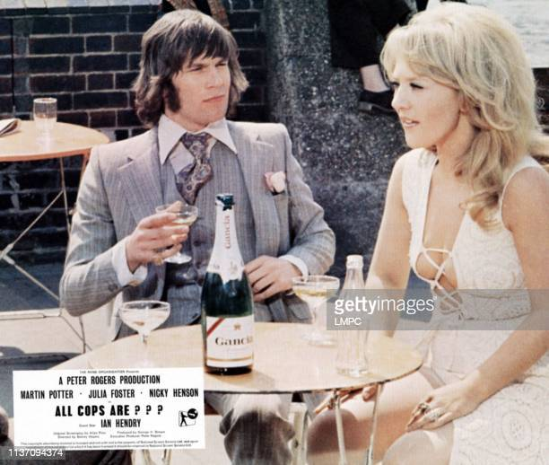 All Coppers Are lobbycardAll Coppers Are from left Nicky Henson Julia Foster 1972
