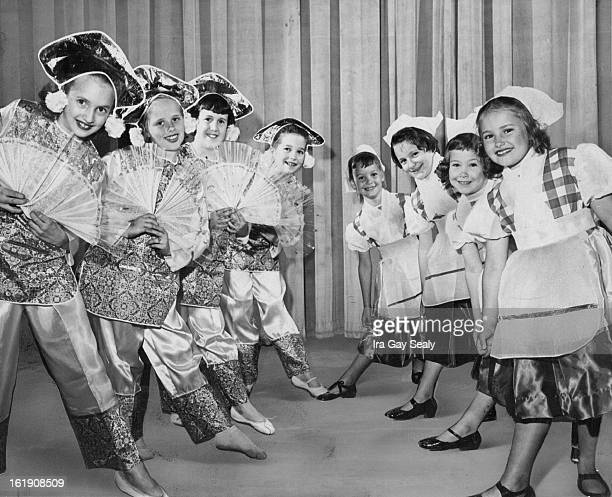 APR 29 1959 All Dolled Up for Phipps Musical Young dancers in the Peter Pan School presentation of excerpts from Babes in Toyland rehearse for the...
