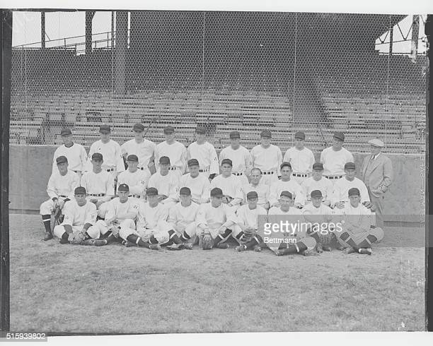 All Dressed Up Ready To Go Places And Do Things Here is the 1933 Edition of the Washington baseballclub as they appeared at Griffith Stadium April...