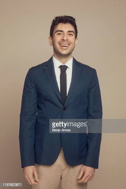All Elite Wrestling CEO/President Tony Khan of TNT's 'All Elite Wrestling' poses for a portrait during the 2019 Summer TCA Portrait Studio at The...