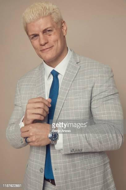 All Elite Wrestling EVP Cody Rhodes of TNT's 'All Elite Wrestling' poses for a portrait during the 2019 Summer TCA Portrait Studio at The Beverly...