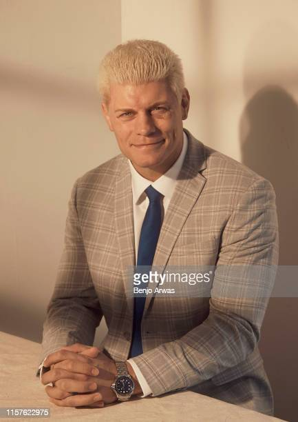 All Elite Wrestling EVP Cody Rhodes poses for a portrait during the 2019 Summer TCA Portrait Studio at The Beverly Hilton Hotel on July 24 2019 in...