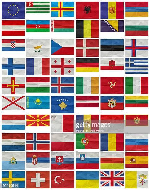All European Flags