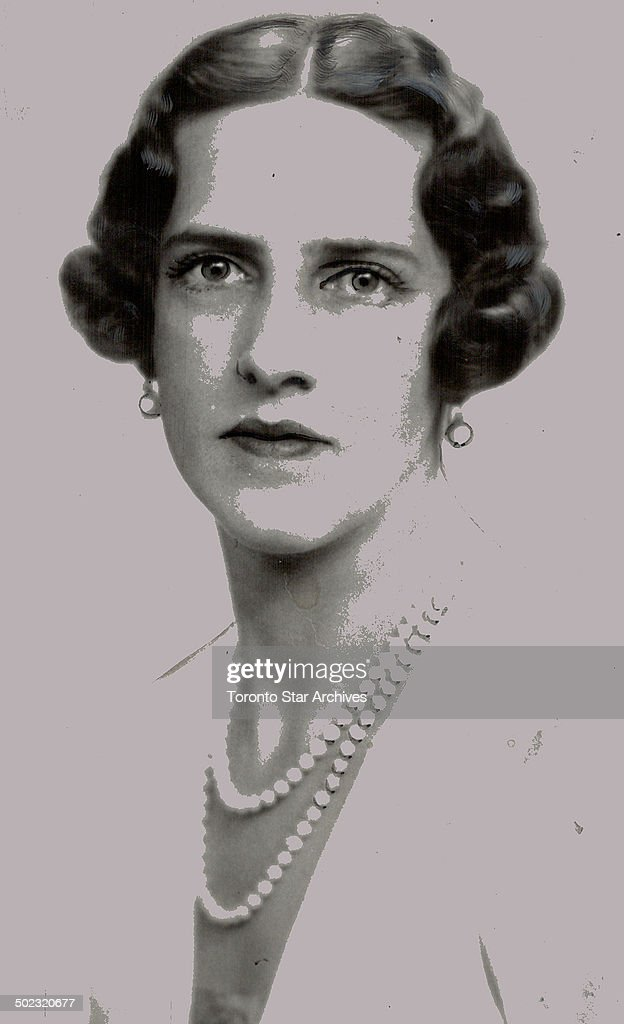 All eyes turned on London. All roads lead to London on the eve of the most spectacular royal wedding England will have witnessed in many a day; culmination of the love match of beautiful Princess Marina and Prince George; Duke of Kent; who take their marital vows at Westminster Abbey to-morrow. In (1) is seen one of the eight bridesmaids; Princess Irene of Greece; sister of ex-King George of Greece; and a cousin of the bride [Incomplete]